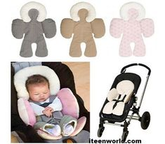 Reversible Newborn Baby Head and Body Support Cushion For Stroller and Car Seat . - Reversible Newborn Baby Head and Body Support Cushion For Stroller and Car Seat . The Babys, Baby Stroller Accessories, Baby Accessories, Baby Must Haves, Baby Shooting, Baby Gadgets, Baby Necessities, Baby Supplies, Baby Head