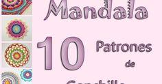 mandala crochet free pattern mandala patron gratis ganchillo patrones grafico paso a paso how to doily carpeta tapete como tejer Frame, Crochet Mandala, Rugs, Crochet Dreamcatcher, Graphic Patterns, Bedspreads, Frames, A Frame