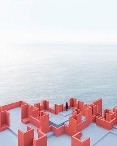 La Muralla Roja Architect: @bofillarquitectura  Photo: @drcuerda