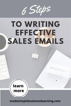 We are all using email more than ever. Learn the 6 steps of writing effective sales prospecting emails. Make your emails stand out and your open rates, your response rates, and your sales will increase quickly. #salestips #emailmarketing #saleswomen Creating A Business, Growing Your Business, Business Tips, Online Business, Sales Strategy, Email Marketing Strategy, Online Marketing, Sales Prospecting, Sale Emails