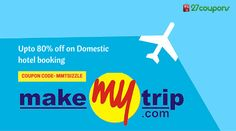 Go on #travel with #makemytrip & #27coupons http://27c.in/kw2hO   For more #updated #coupons & #offers on #travel please visit 27coupons.com