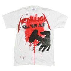 5951529d cyberteez.com - Metallica Kill Em All Splatter T-Shirt, $19.95 (http