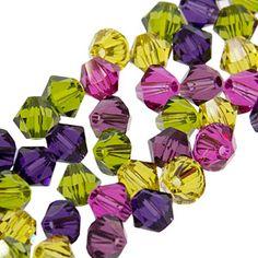 5328 4mm Swarovski Elements Crystal Mix - Berrylicious | Fusion Beads
