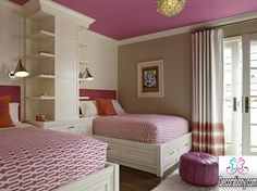 twins girls room design Attractive Twins Room Design Ideas For Kids