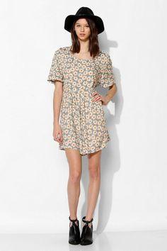 Urban Renewal '90s Blossom Mini Dress #urbanoutfitters