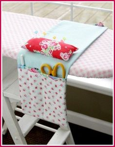 Sew Fast and Fun Ironing Board Caddy - A Free Sewing Tutorial by Bev McCullough