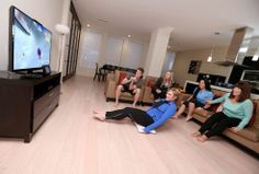 Check out celebrity trainer Kathy Kaehler (@Kathy Kaehler) )as she makes #fitness fun with #WiiFitU for #WiiU!
