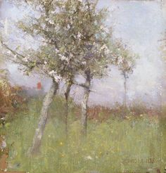 Apple Blossom - Sir George Clausen, 1885