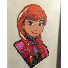 Anna Frozen hama beads by  musseth