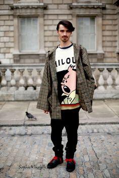 Dusty Payne. I love his shirt. Btw, Milou is Snowy's original name.