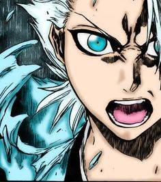 Manga Color - Hitsugaya by BlackCatYoru.deviantart.com on @DeviantArt