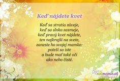 Najmama.sk Games For Kids, Cool Words, Poems, Preschool, Lettering, Education, Nice, Games For Children, Kindergarten