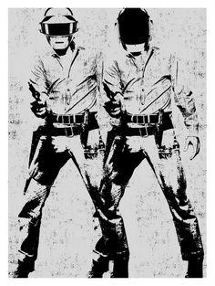double daft punk | jaime cervantes
