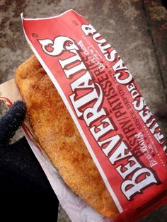 You can never go wrong with The Classic BeaverTails pastry (cinnamon & sugar)!