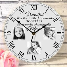 It's the little moments. Personalized Clocks, Photo Clock, Wow Factor, Photo Quality, Wow Products, Best Memories, Your Design, Arts And Crafts, Colours