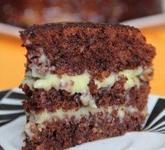 """Crazy Cake - это американский пирог, в переводе звучит как """"Сумасшедший торт (пирог)"""". Его придумали в США в период дефицита. Данный пирог имеет необыкновенный вкус, несмотря на свой простой состав.…"""