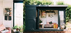 Move over man caves she sheds are the new garden haven for women.Popping up ...