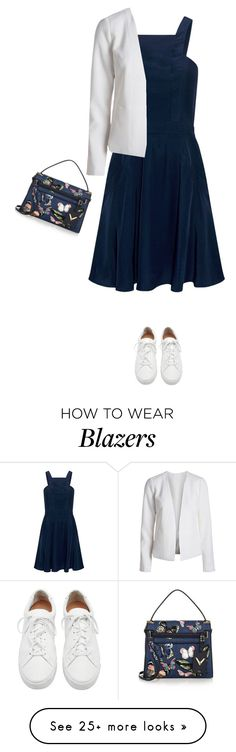 """""""Untitled #4984"""" by linda56draco on Polyvore featuring Finders Keepers, Loeffler Randall and Valentino"""