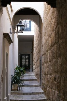 Streets of the old Jewish quarter of Seville, Spain