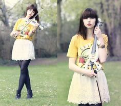 I love my violin + giveaway (by The Mad Twins -) http://lookbook.nu/look/3340847-I-love-my-violin-giveaway