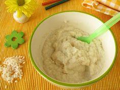 Purea di riso con ricotta