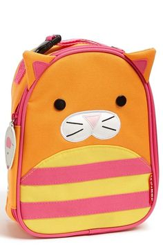 Love this cute critter lunchbag.