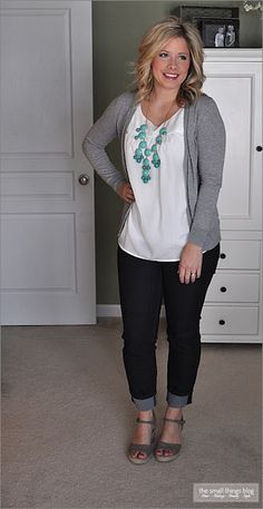 I love when I find an outfit I already have but have never styled. <3 The Small Things Blog