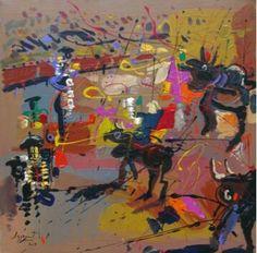 Los toros de Jazzamoart #sialostoros #amoralarte