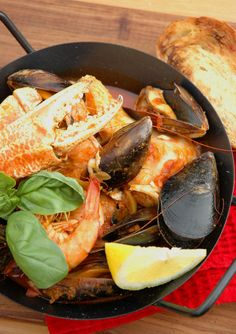 Potjiekos is a South African classic and seafood potjie is right there in the number one spot!Fragrantdelicious and packed with real South African flavors! Seafood Dishes, Seafood Recipes, Seafood Boil, Sauce Recipes, Healthiest Seafood, Food Crush, South African Recipes, Recipes From Heaven, Easy Cooking
