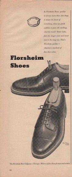 Florsheim Mens Dress Shoes (1949)