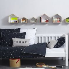 #kidsroom #nursery Love the idea of houses for animals and other small friends