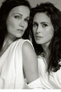 Tarja Turunen de 'Nightwish' & Sharon den Adel de 'Within Temptation'.