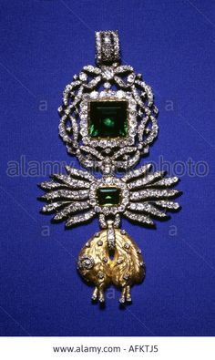 Order of the Golden Fleece (Austrian) - Badge from the treasure, South Germany, circa