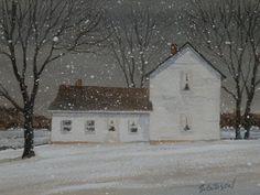 Josef Schweiger's Farm by stevegibsonart on Etsy, $35.00