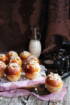 Illéskrisz Konyhája: BRIÓS MUFFIN Brie, Cupcake, Muffin, Dishes, Cookies, Breakfast, Easy, Food, Diet