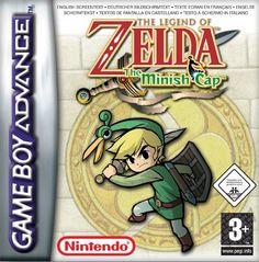 The Legend of Zelda The Minish Cap (GBA)