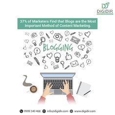 With the help of blogging, we can draw people back and offer a way for consumers and businesses to interact. . . . . #digidir #blogging #statistics #blogger #blogpost #contentcreator #contentmarketing #contentmarketer #contentstrategy #bloggingtips #blog #discussion #forums #guestposting #guestpost #strategies