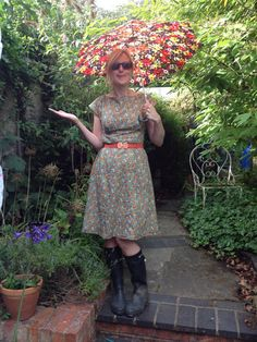 This looks like a great dress pattern-- By Hand London, Anna Dress