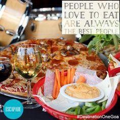 #Fine #Dining #Good #Food #Pizza #Fries #Drinks #Escapade #Goa #DestinationOne