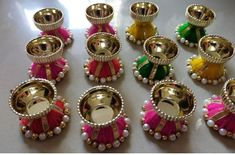 Mini Cupcakes, Handmade, Jewelry, Decor, Hand Made, Jewlery, Decoration, Jewerly, Schmuck