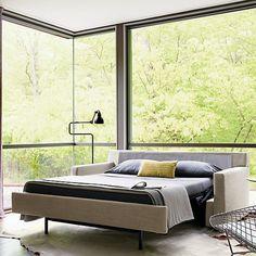 Vesper King Sleeper Sofa - Design Within Reach Sofa Bar, Sofa Bed Uk, Full Sleeper Sofa, Modern Sleeper Sofa, Sectional Sleeper Sofa, Bedroom Sofa, King Sofa Bed, Murphy-bett Ikea, Loveseats