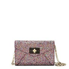 Love this multicolor glitter bag from Kate Spade: moonlit soiree.  $298