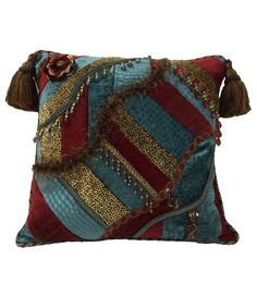 ACCENT PILLOWS: Order today, yours in about a week! Luxury Accent Pillows by Reilly-Chance Collection