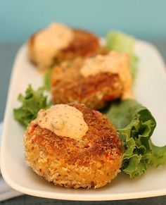 Chesapeake Tempeh Cakes - 12 Incredibly Delicious (and Vegan) Recipes You Can Bring to a Party - ChooseVeg.com