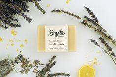 Lavender & Geranium Soap- http://boydsfarm.co/shop/lavender-soap