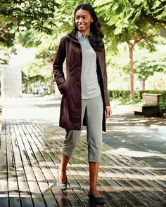 Weatheredge® Girl On The Go® Trench Coat | Eddie Bauer