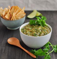 Roasted Tomatillo Salsa Verde Recipe - RecipeChart.com