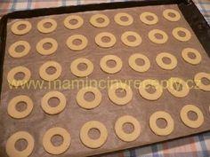Nugátové kroužky Nutella