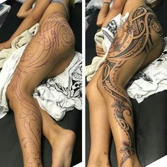"17.2k Likes, 602 Comments - Art Motive (@art_motive) on Instagram: ""Freehand Polynesian piece by @nativefleshbrandon who will be attending the PACIFIC INK & ART EXPO…"""