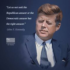 Have the desires of past decades died along with JFK?? ,,, Justice doesn't take sides. Make the choice that is right for the nation as a whole. SIGN the petition to END the corruption in Washington: http://www.conventionofstates.com/..